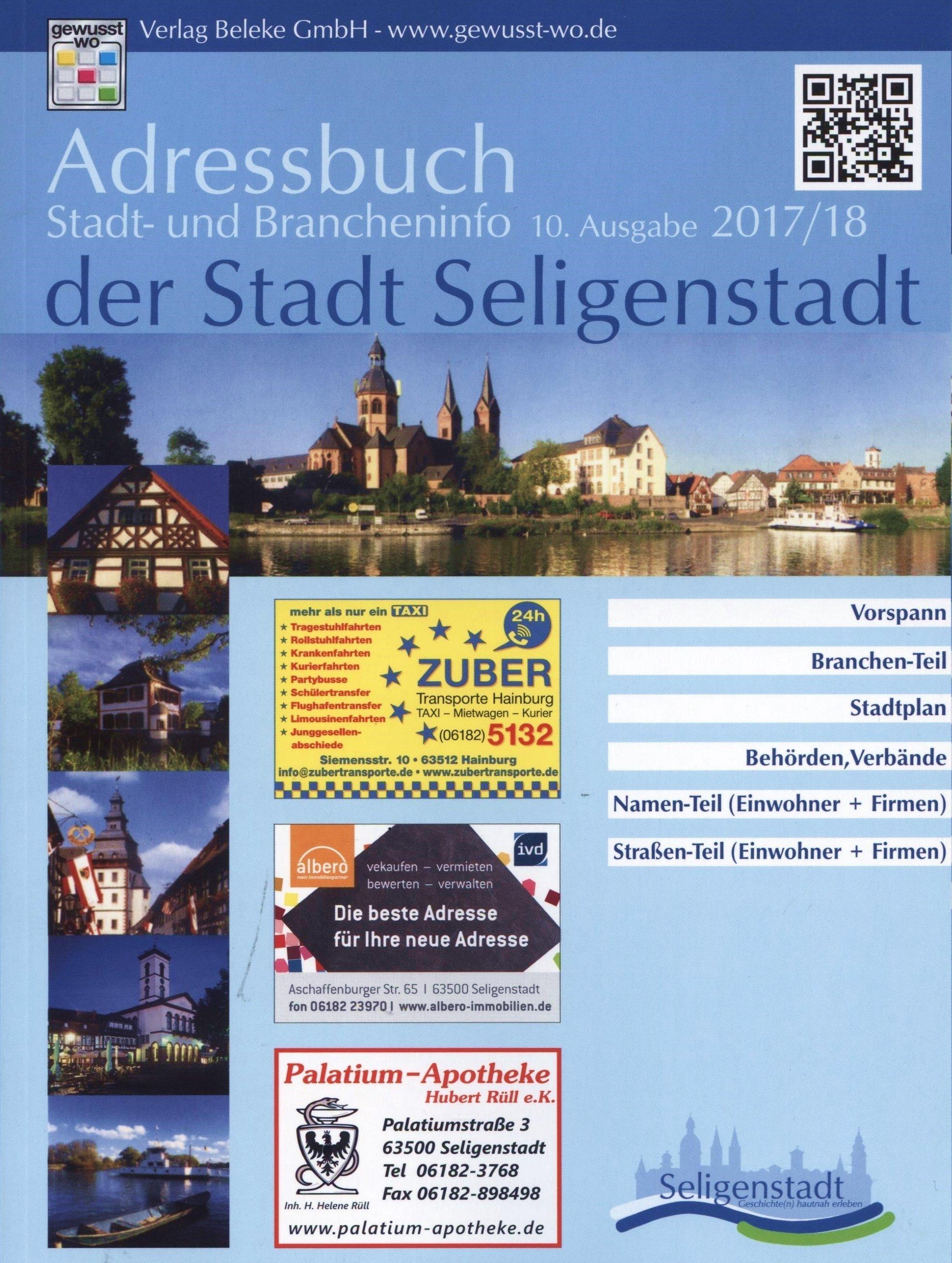 Titel Adressbuch 2017/2018
