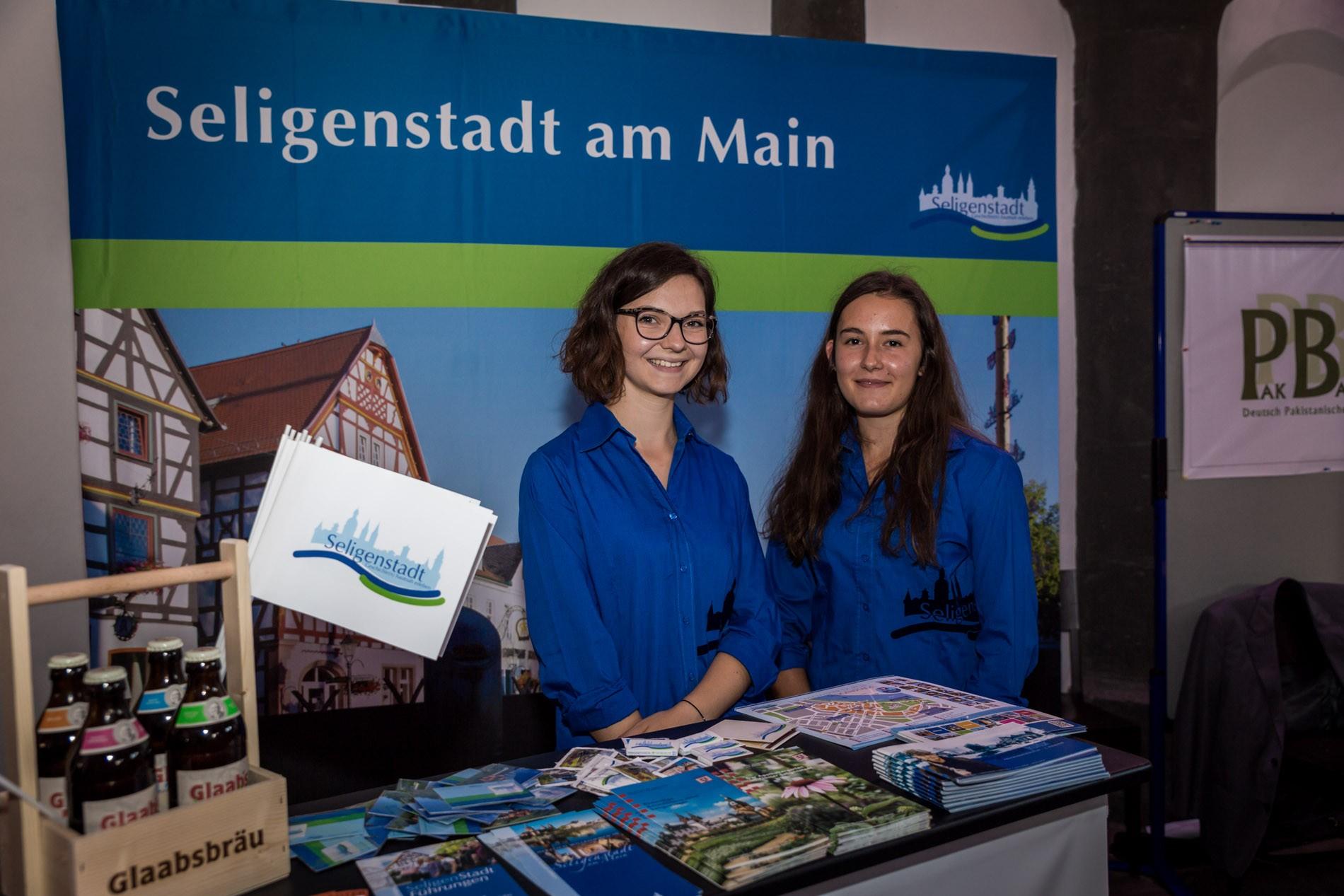 Seligenstadt-Stand auf dem Newcomer Festival 2017 in Frankfurt am Main