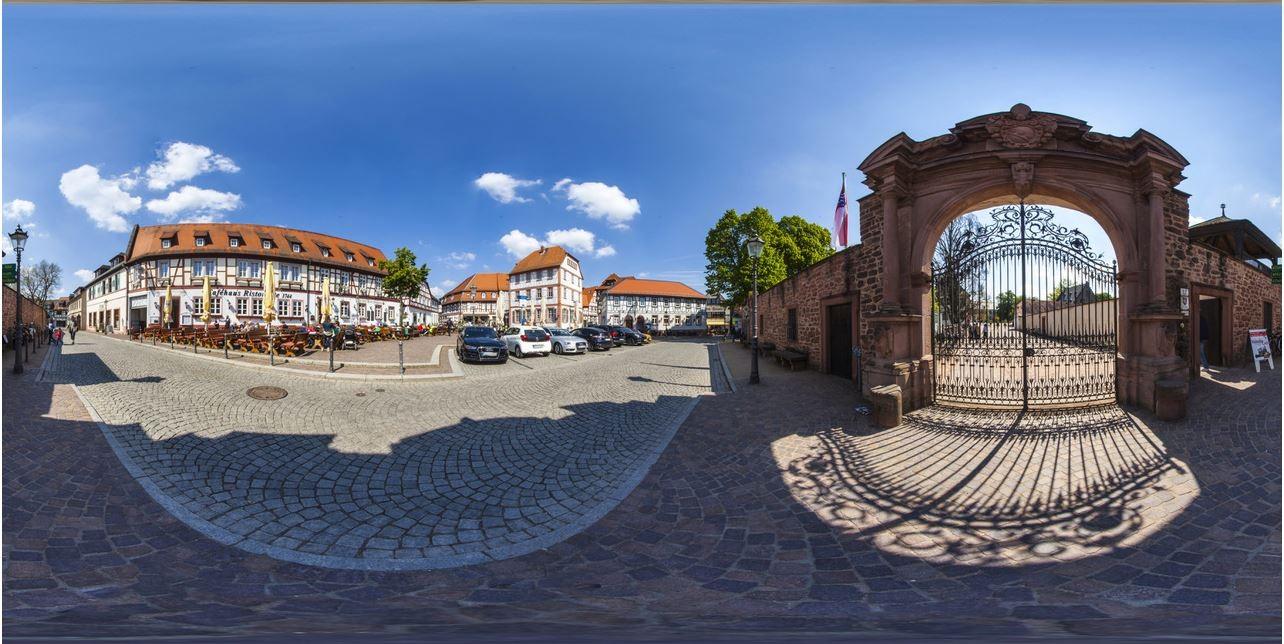 Virtueller Stadtrundgang durch Seligenstadt
